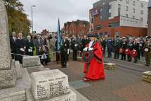 Surrey Heath Remembrance Parade 201510