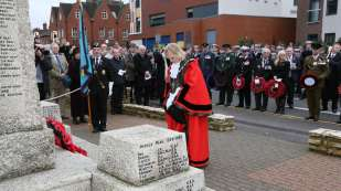 Surrey Heath Remembrance Parade 201511