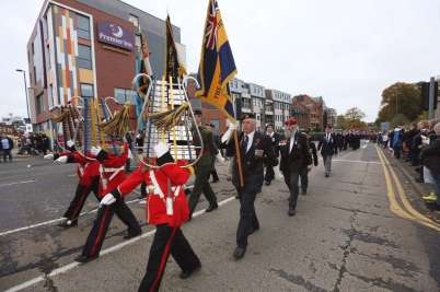 Surrey Heath Remembrance Parade 201517