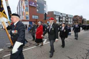 Surrey Heath Remembrance Parade 201518