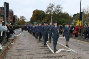 Surrey Heath Remembrance Parade 201521