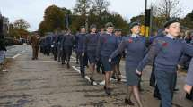 Surrey Heath Remembrance Parade 201522