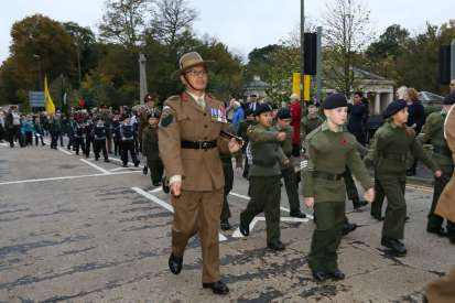 Surrey Heath Remembrance Parade 201524