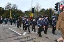 Surrey Heath Remembrance Parade 201525