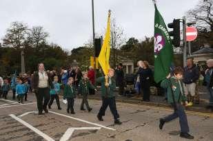 Surrey Heath Remembrance Parade 201526