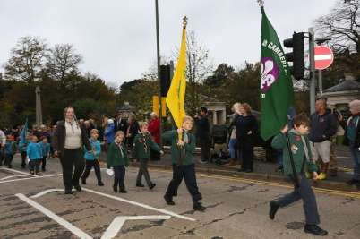 Surrey Heath Remembrance Parade 201526