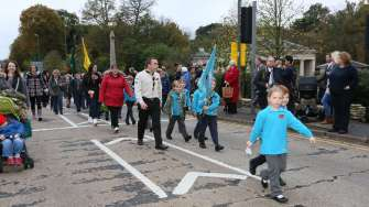 Surrey Heath Remembrance Parade 201527