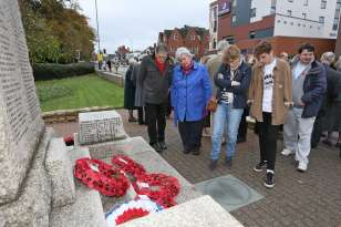Surrey Heath Remembrance Parade 201530