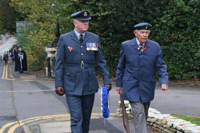 Surrey Heath Remembrance Parade 201536