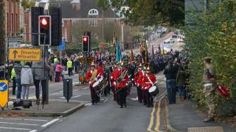 Surrey Heath Remembrance Parade 201537