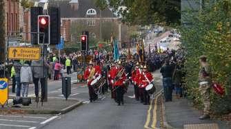 Surrey Heath Remembrance Parade 201537