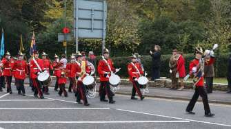 Surrey Heath Remembrance Parade 201539