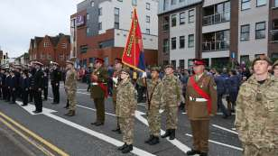Surrey Heath Remembrance Parade 20154