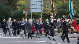 Surrey Heath Remembrance Parade 201540