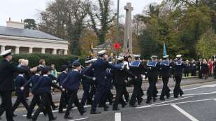 Surrey Heath Remembrance Parade 201543