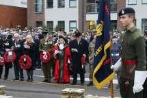 Surrey Heath Remembrance Parade 201545