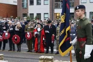 Surrey Heath Remembrance Parade 201545