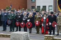 Surrey Heath Remembrance Parade 201546