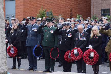 Surrey Heath Remembrance Parade 201549