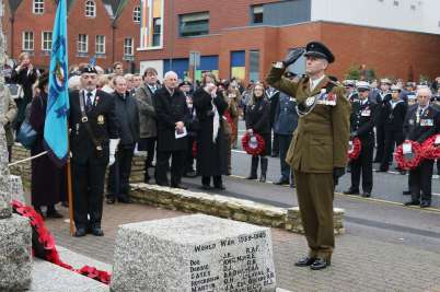 Surrey Heath Remembrance Parade 201550