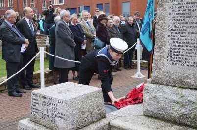 Surrey Heath Remembrance Parade 201559