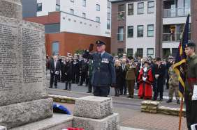 Surrey Heath Remembrance Parade 201560