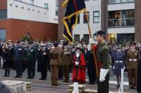 Surrey Heath Remembrance Parade 201561