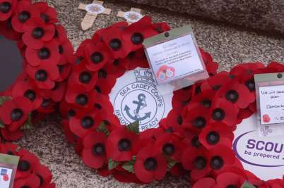 Surrey Heath Remembrance Parade 201563