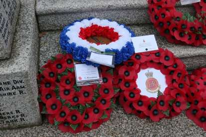 Surrey Heath Remembrance Parade 201566