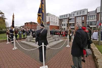 Surrey Heath Remembrance Parade 20159