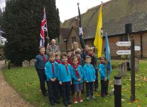 Windlesham Remembrance 2015 No 3