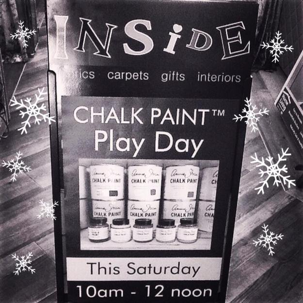Chalk Paint Play Day This Saturday
