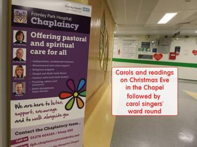 Frimley Park Hospital Carols - Alan Meeks 1