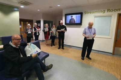 Frimley Park Hospital Carols - Alan Meeks 16