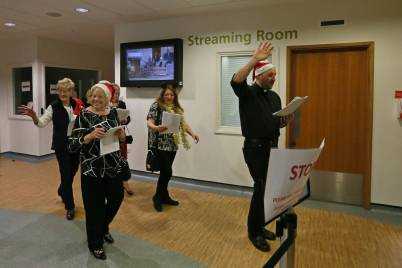 Frimley Park Hospital Carols - Alan Meeks 17