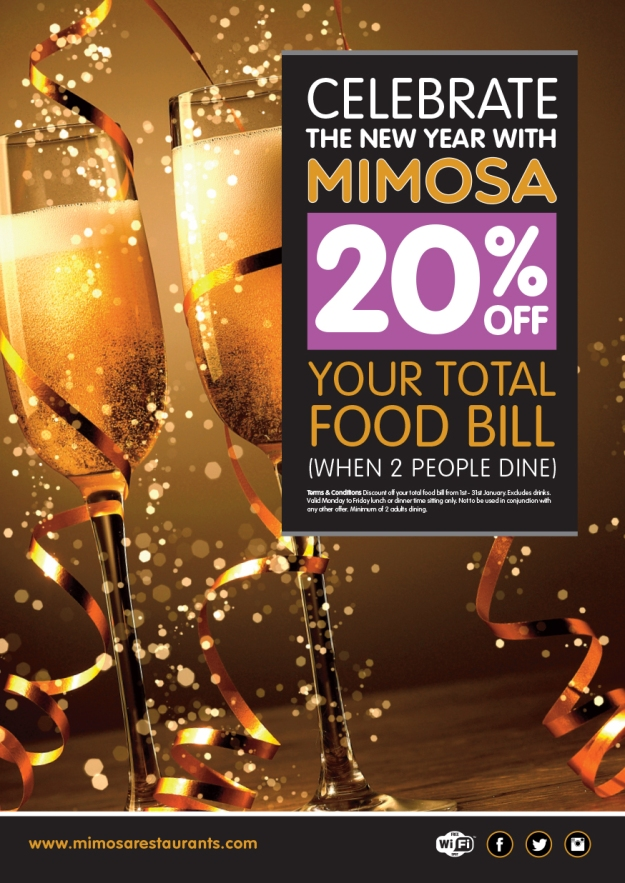 New Year with Mimosa