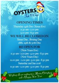 Oysters - Christmas 2015 - Deachy 9