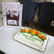 Queenie Bench at 106 1