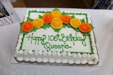 Queenie Bench at 106 2