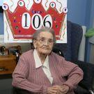 Queenie Bench at 106 3
