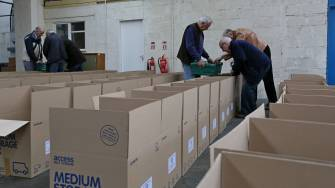 Rotary food parcels - Alan Meeks 12