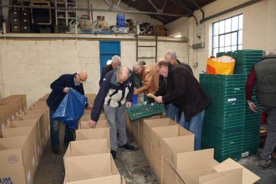 Rotary food parcels - Alan Meeks 16