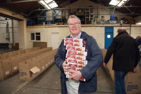 Rotary food parcels - Alan Meeks 17