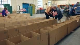 Rotary food parcels - Alan Meeks 19