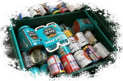 Rotary food parcels - Alan Meeks 2
