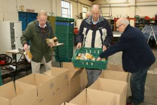 Rotary food parcels - Alan Meeks 20