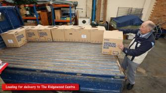 Rotary food parcels - Alan Meeks 22