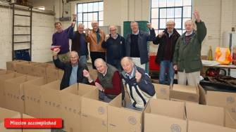 Rotary food parcels - Alan Meeks 23