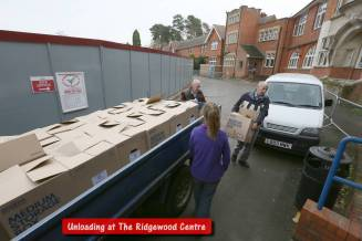 Rotary food parcels - Alan Meeks 25