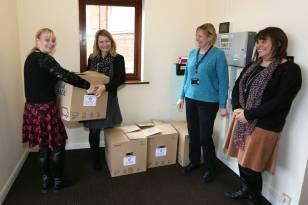 Rotary food parcels - Alan Meeks 26